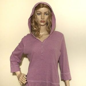 American Eagle Hoodie Purple 100% Cotton Size XL